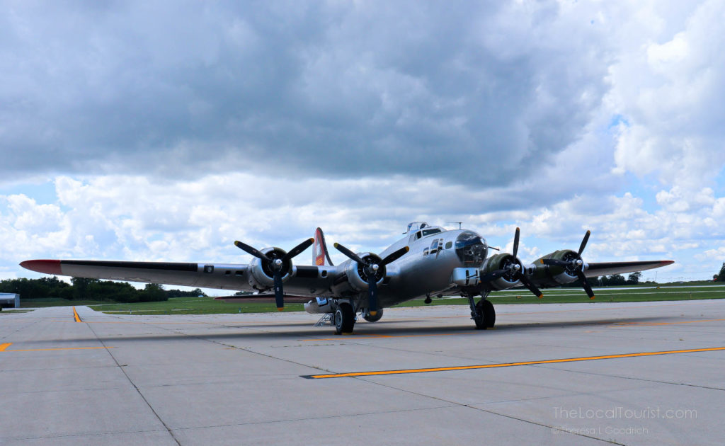 Aluminum Overcast, one of the last remaining air-worthy B-17 Flying Fortress heavy bombers