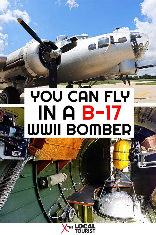 See what it's like to fly in a B-17 Flying Fortress, a living piece of World War II history.