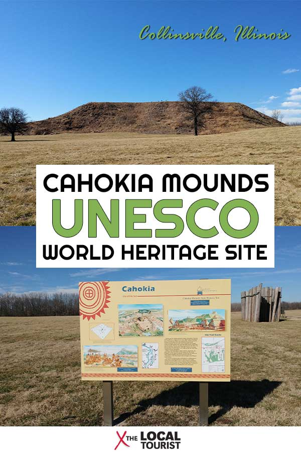Cahokia Mounds State Historic Site is a UNESCO World Heritage Site located in Illinois. #Cahokia #UNESCO #USA #historicsite