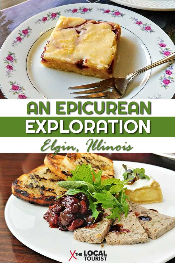 Explore the foodie scene in Elgin, Illinois. From rich pastries, to amazing sushi, to a vegan dinner good enough for a carnivore, you'll love this epicurean exploration of the City in the Suburbs. #Chicagoland #Restaurants #bestdining