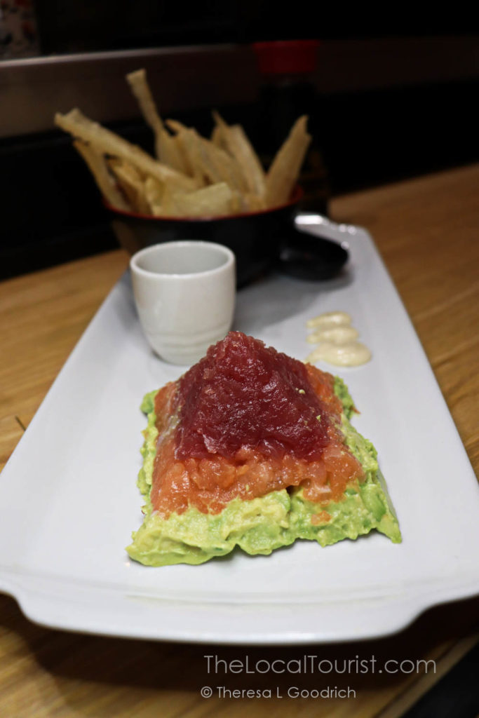 Tartar Pyramid at Kubo Sushi and Sake Lounge