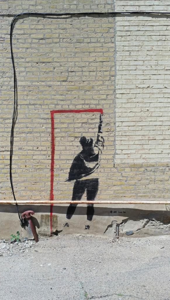 Mural near Side Street Studio Arts