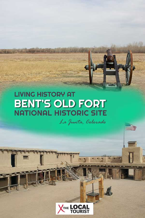 Bent's Old Fort National Historic Site is a living history museum located on the banks of the Arkansas River in Colorado in the western U.S. | US National Parks | Eastern Colorado | U.S. History | Santa Fe Trail