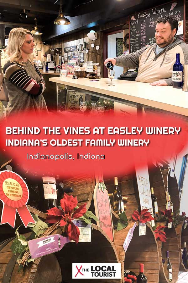 Get the story behind Indiana's oldest family winery. Easley Winery has been producing wines since 1974 - see why you should visit.