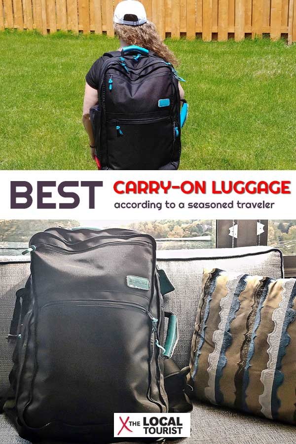 Looking for the best carry-on luggage for your upcoming travels? Check out this review of Standard Luggage Co's 3-in-1 backpack, shoulder bag, and suitcase. It will change the way you travel.