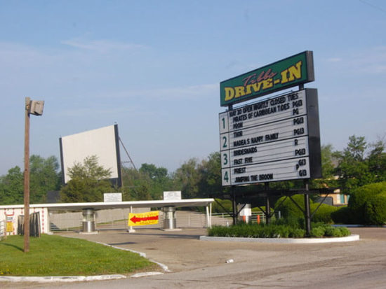 Tibbs Drive-in Movie Theatre, photo by Lauren Tibbs
