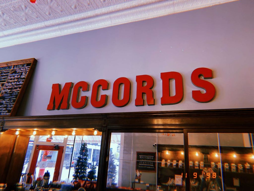 McCords Candies