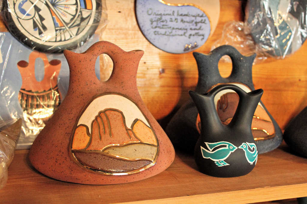 Pottery made by Donna Londene before she passed away.