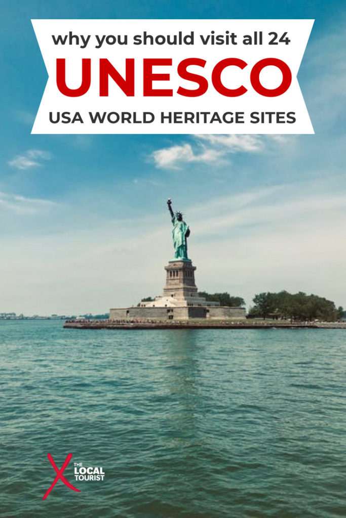 There are 24 UNESCO World Heritage Sites in the USA (although one of them consists of 8 Frank Lloyd Wright sites). Learn about all of these places with cultural and historical significance and see why you should visit.
