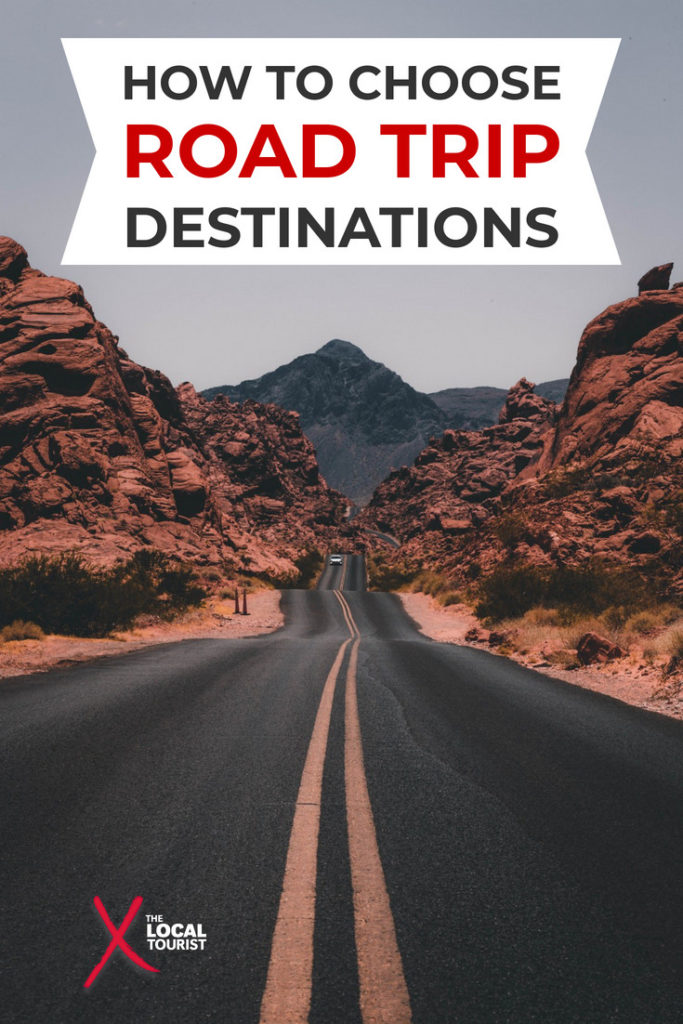 Thinking about planning a road trip? Use these tips to choose road trip destinations you'll love.  If you're not sure where to go on your road trip, these tips, tricks, and tools will help. #RoadTrip #TripPlanning #RoadTripGuide