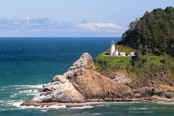 Heceta Head Lighthouse on the coast of Oregon