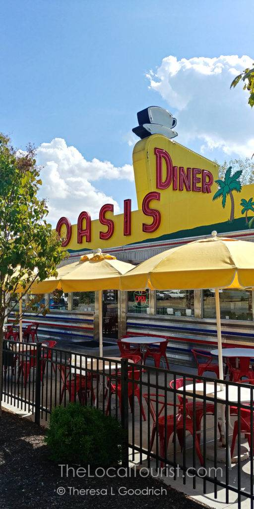 Oasis Diner on the National Road in Plainfield, Indiana