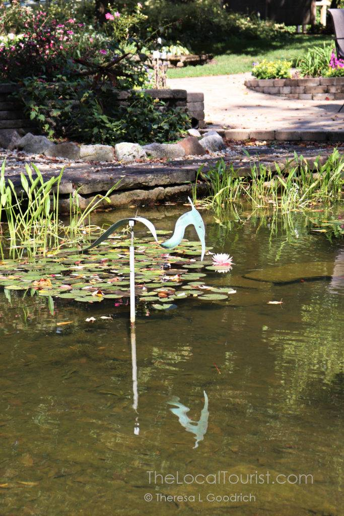 Pond at Avon Gardens in Hendricks County Indiana