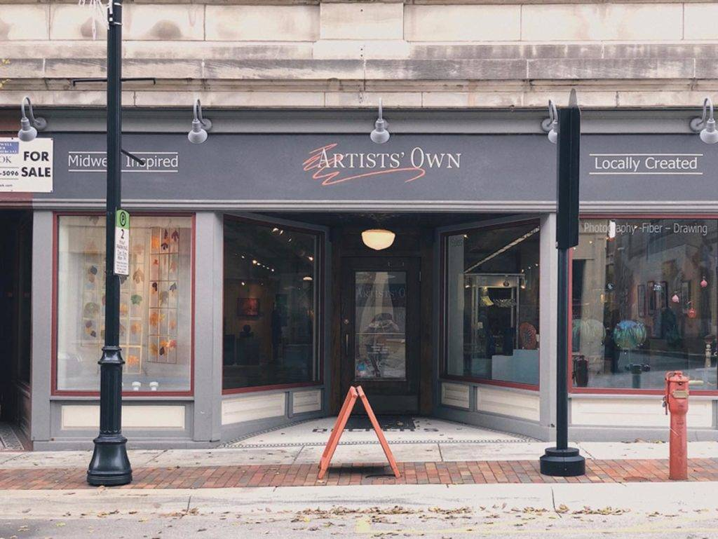 Artists' Own in downtown Lafayette Indiana