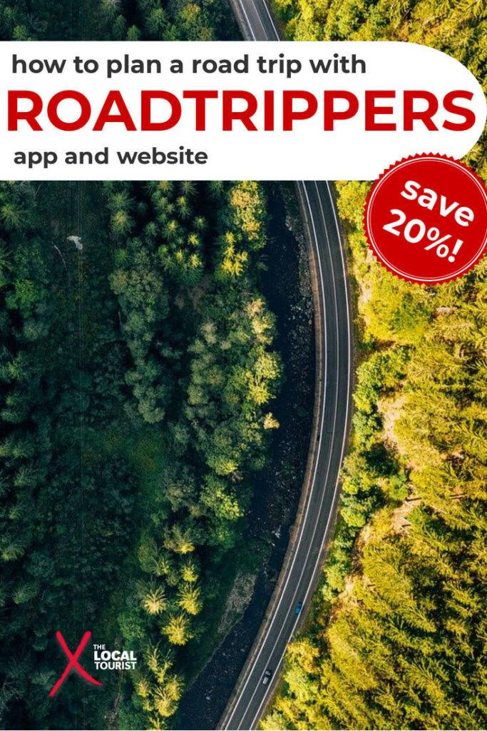 Plan your next road trip with roadtrippers app and website. This tool helps you figure out where to go and will even estimate how much gas will cost. #roadtrippers #roadtrip #app #roadtripapp