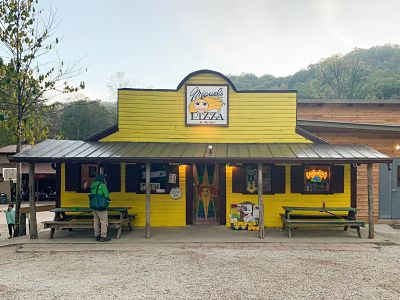 Miguel's Pizza in the Red River Gorge of Kentucky